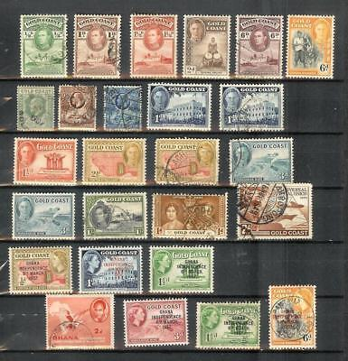 Gold   Coast   Old   Stamp   Selection