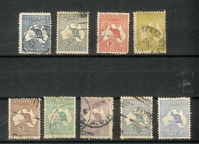 Australien   Australia   Old   Roos   Stamp   Selection