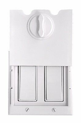 The Original HomeStar Safety Light Switch Guard / Cover (double rocker switches)