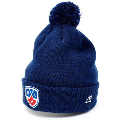 KHL hat with Pompon, Kontinental hockey league, Russian Ice hockey, Russia