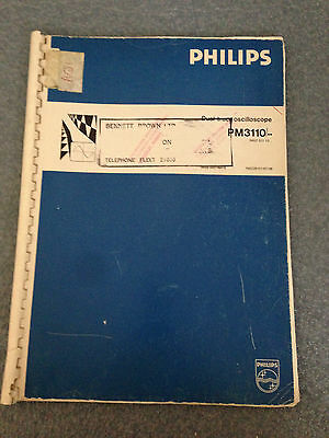 Philips PM3110 Service Manual