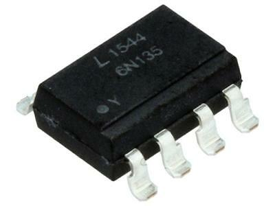 2000x 6N135S-TA1-L Optocoupler SMD Channels1 Out transistor 1kV/μs LITEON
