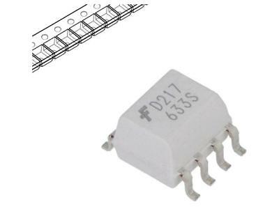 2500x MOCD217R2M Optocoupler SMD Channels2 Out transistor 2.5kV SO8
