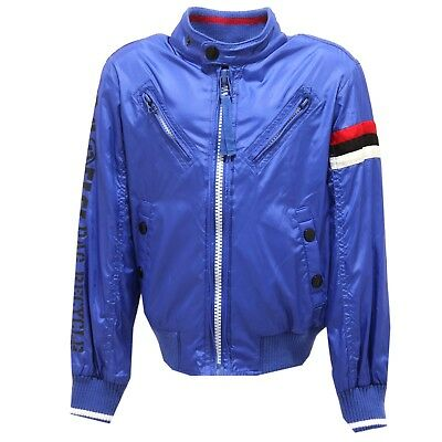 8821T giacca antivento bimbo RARE BARRACUDA JACKET blu jacket kid