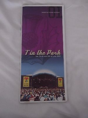 T in the Park 2001 - Balado - Programme