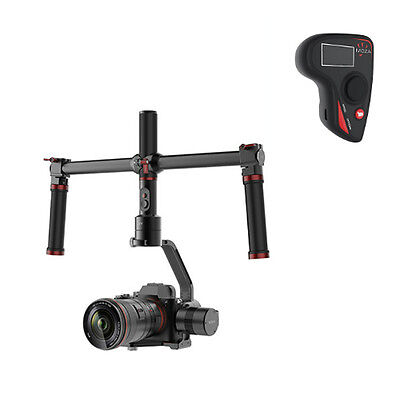 MOZA Air 3 Axis Gimbal Handheld Stabilizer Dual handle Wireless Remote 2.5KG NEW