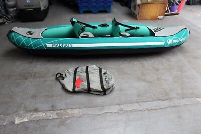 Sevylor Madison Inflatable 2 seat Kayak +++ RRP £480 +++ 446