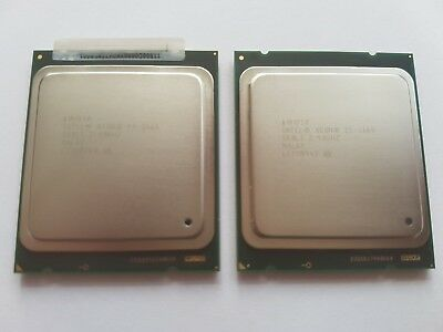 2x Intel Xeon E5-2665 8-Core Processor 2.40 GHz, SR0L1 Matched Pair VAT REG