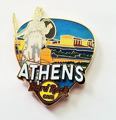 Hard Rock Cafe  Athens 2017 Core Greetings Pick  Pin  New