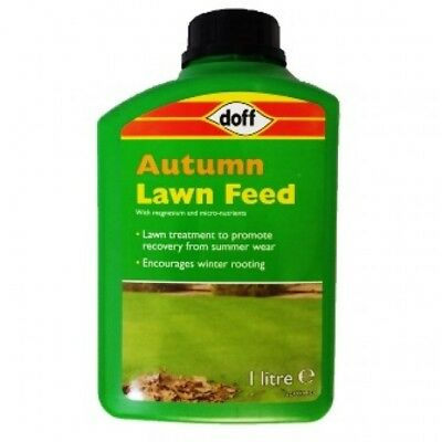 Doff Garden autumn Lawn Feed  winter grass rooting micro-nutrients and magnesium