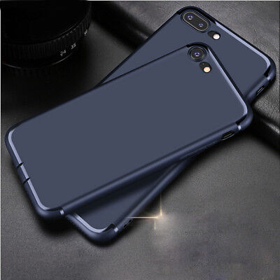 For Apple iPhone 8 Plus Case Cover Ultra Slim Thin Matte Shockproof Rubber Shell
