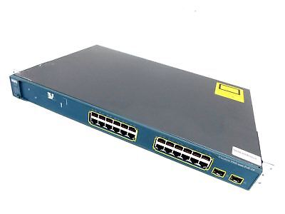Cisco 3560 Series PoE-24 24-Port Network Switch WS-C3560-24PS-S V09