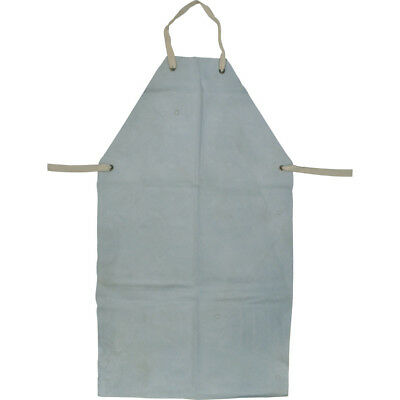 Kennedy KEN-885-8030K chrome leather welders apron, LWA42TG grey, 24x42""