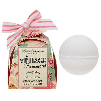 Vintage Bouquet Bath Fizzer Bath Bomb Christmas Gift Set