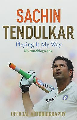 Sachin Tendulkar - Playing It My Way - My Autobiography - The Little Master book