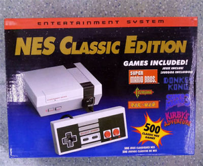 Like Nintendo NES Classic Mini Edition Console 500 Game NEW IN BOX