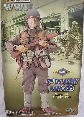 """BBI Elite Force collectable action figure 1/6 scale 12"""" WW2 US Army Ranger"""