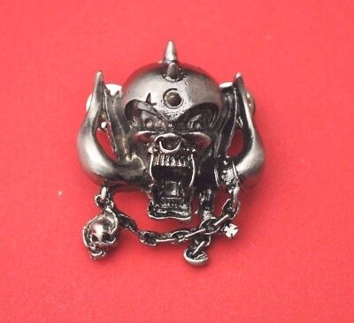 Motorhead Warpig  Metal Pin badge rock music band RIP LEMMY