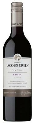 Jacob's Creek `Classic` Shiraz 2016 (12 x 750mL), SE AUS.