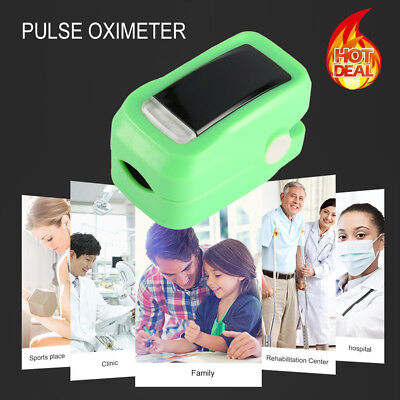 Fingertip Blood Oxygen Meter SPO2 OLED Pulse Heart Rate Monitor Oximeter rate RK