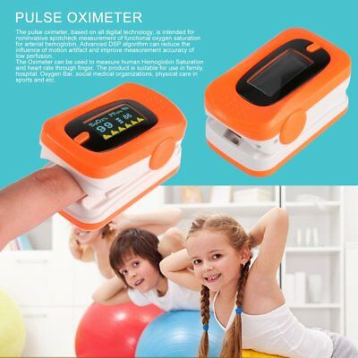Heart rate pulse SPO2 OLED Display automatic Fingertip Pulse blood Oximeter RK