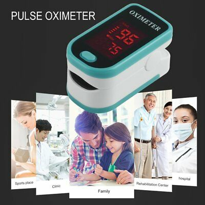 Finger Pulse Monitor Blood Oxygen Heart rate Saturation Monitor with Lanyard  wk