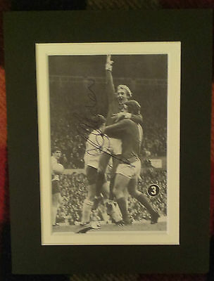 Brian Kidd - Manchester United & England - Signed Mounted Picture 1968 Ec Winner