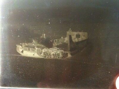 1 X  Vintage Negative Photography Plate. Historical Images/military Personnel
