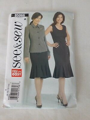 NEW SEE & Sew Easy Sewing Pattern B4963 Ladies Jacket/skirt/trousers ...