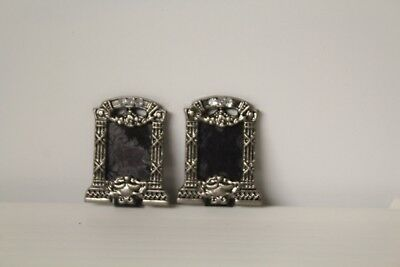 DOLLS HOUSE PICTURE (  2 Silver  Photo Frame