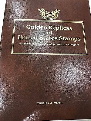 Lot of 75 - Gold Foil Replica Stamps 1992 - 1998