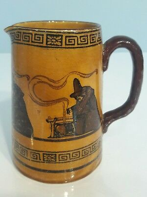"Royal Doulton ""WITCHES"" Pitcher Series D2735 circa 1910"