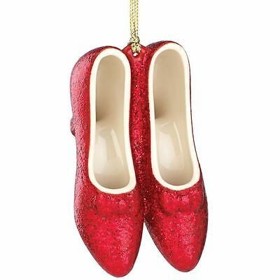 Lenox ~ WIZARD OF OZ There's No Place Like Home Ornament ~Ruby Slippers ~ NIB