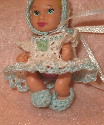 Barbie Baby Krissy Dress set with Bonnet and Booties