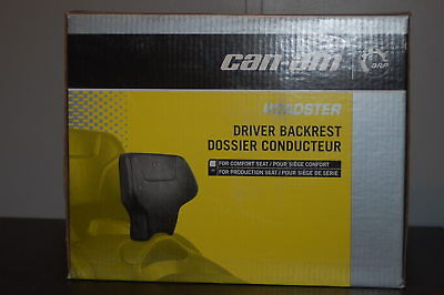 Can AM 13-15 Spyder RT Driver Backrest for production seat new in box 219400358