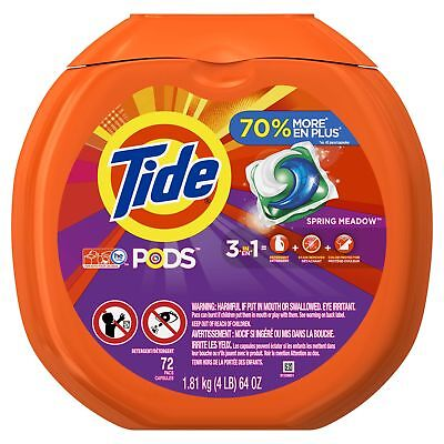 Tide PODS Laundry Detergent Spring Meadow 72 Count