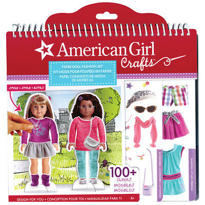 NEW American Girl Paper Doll Fashion Set - 4 Dolls Accessories Clothing and More