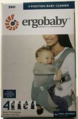 Ergobaby 4 Positions 360 Cool Air Mesh Carrier - French Blue - FREE SHIPPING