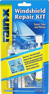 Rain‑X 600001 Fix a Windshield Repair Kit, for Chips, Cracks,and  Bulll's-Eyes *