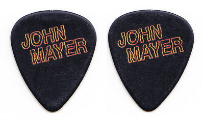 John Mayer Black/Red VIP Guitar Pick - 2017 The Search For Everything Tour