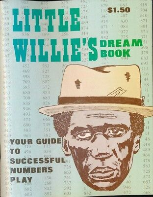 LITTLE WILLIE'S DREAM BOOK 1974 Numbers Digest NEW Near Mint