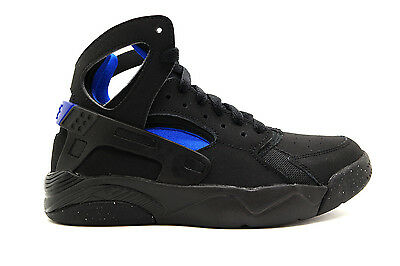 new style 9d79a 57067 705281-001 Nike Flight Huarache Grade School Sneakers Nikeblack Lyon Bluem