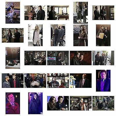 CASTLE 4X6 Photo Set #4 (25) NATHAN FILLION/STANA KATIC/JON HUERTAS/SEAMUS DEVER