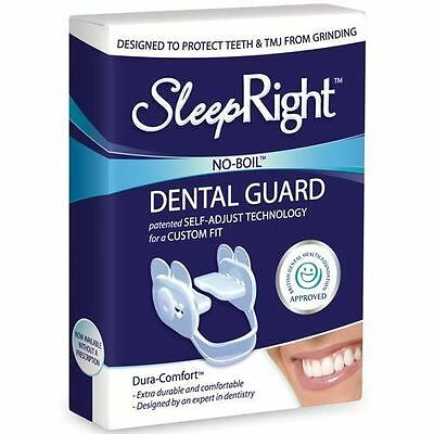 SleepRight Dura Dental Guard Comfort Teeth Grinding Protection FreshGuard Tablet