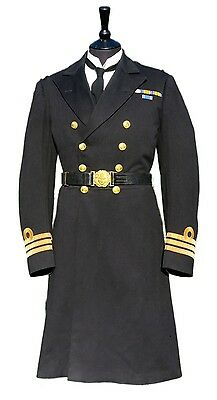 WW1 Royal Navy Frock Coat, Belt, Trousers, King's Birthday Review Tickets etc.