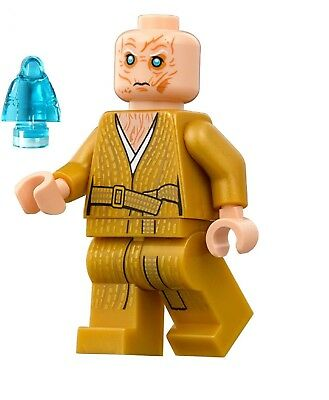 Lego Star Wars Supreme Leader Snoke And Emperor Palpatine mini figure 75190