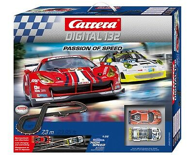 Carrera Digital 132 PASSION OF SPEED Startset 30195