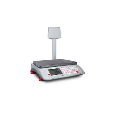 Ohaus A71P15DTNUS Aviator 7000 15 lb Advanced Retail Scale with Tower