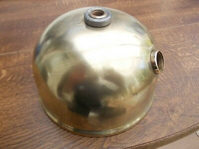 Tilley X246B Stormlight Polished Brass Tank Paraffin Pressure Vapour Lamp