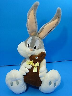Bugs Bunny Stuffed Plush with Chocolate Easter Bunny Plush Toy Looney Tunes